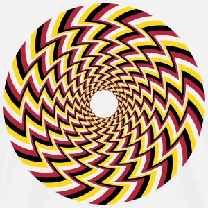 Optical Illusion 32A T-Shirts - Men's Premium T-Shirt