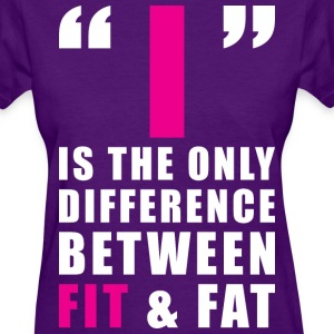 The Difference Between FIT and FAT Women's T-Shirts - Women's T-Shirt