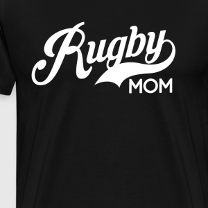 Rugby Mom Womens T-Shirt T-Shirts - Men's Premium T-Shirt