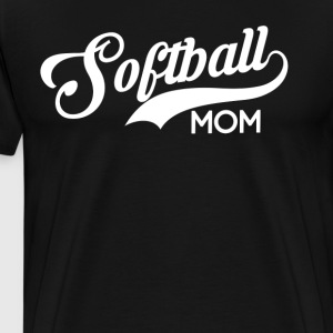 Softball Mom Womens T-Shirt T-Shirts - Men's Premium T-Shirt