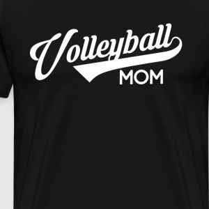 volleyball Mom Women's T-Shirt T-Shirts - Men's Premium T-Shirt