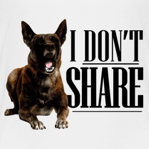 I do not share - Malinois - Kids' Premium T-Shirt