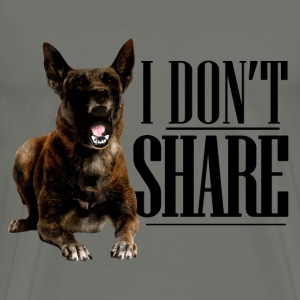 I do not share - Malinois - Men's Premium T-Shirt