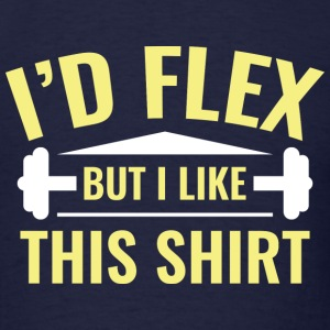 I'd Flex - Men's T-Shirt