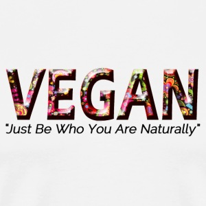 Just Vegan - Men's Premium T-Shirt