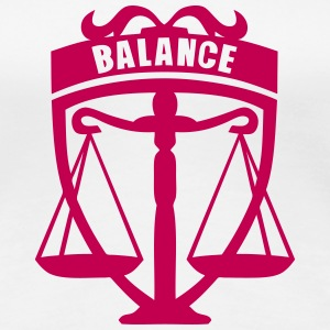 sign balance T-Shirts - Women's Premium T-Shirt