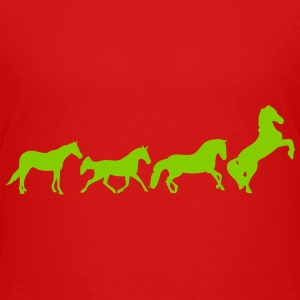 animated horse 2 Kids' Shirts - Kids' Premium T-Shirt
