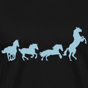 animated horse 5 T-Shirts - Men's Premium T-Shirt