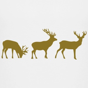 animated deer berr 1 Kids' Shirts - Kids' Premium T-Shirt