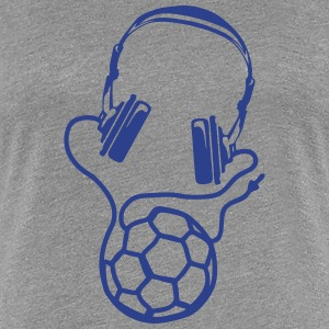 handball headset headphones wire balloon T-Shirts - Women's Premium T-Shirt
