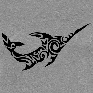 tribal swordfish  802 T-Shirts - Women's Premium T-Shirt