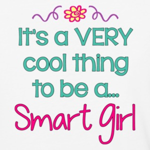 It's cool to be a Smart Girl - Baseball T-Shirt