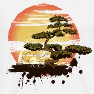 Bonsai Tree Karate Dojo T-Shirts - Men's Premium T-Shirt