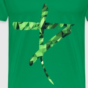 logo green attack T-Shirts - Men's Premium T-Shirt