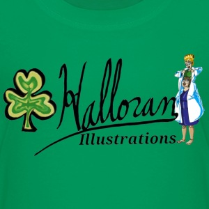 Halloran Illustrations logo - Kids' Premium T-Shirt