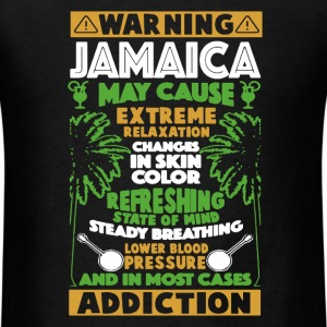Warning Jamaica Shirt - Men's T-Shirt