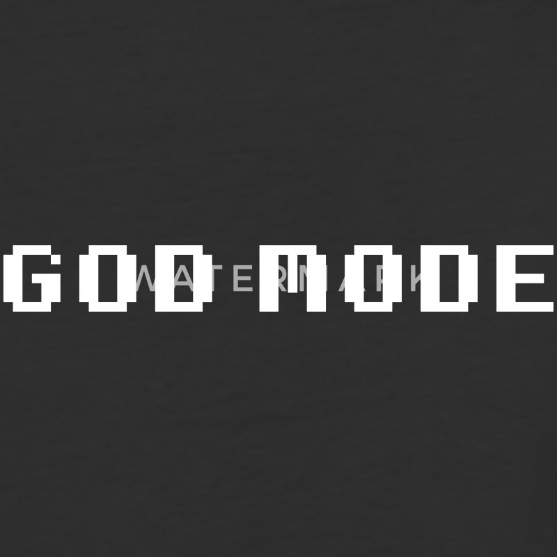 GOD MODE T-Shirts - Baseball T-Shirt