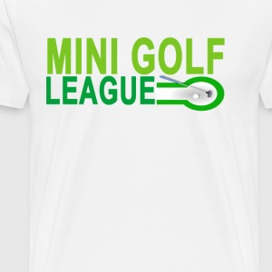 mini_golf_league_ - Men's Premium T-Shirt