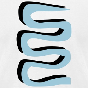 snakeline - V2 T-Shirts - Men's T-Shirt by American Apparel