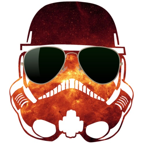 Hipster Trooper / space swag hipster