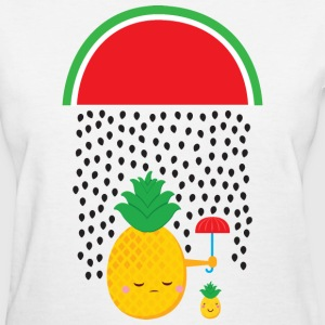 Melon Rain - Pineapple Women's T-Shirts - Women's T-Shirt