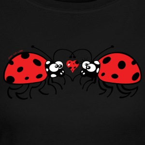 Adorable ladybugs sweetly falling in love Long Sleeve Shirts - Women's Long Sleeve Jersey T-Shirt