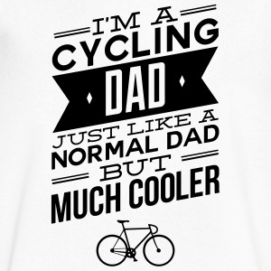I'm A Cycling Dad... T-Shirts - Men's V-Neck T-Shirt by Canvas