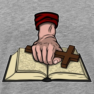 Bible and Cross T-Shirts - Men's Premium T-Shirt