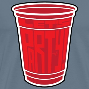 Red Cup Party by Tai's Tees - Men's Premium T-Shirt