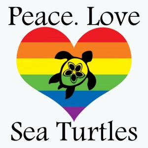 Peace. Love. Sea Turtles