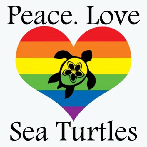 Peace. Love. Sea Turtles