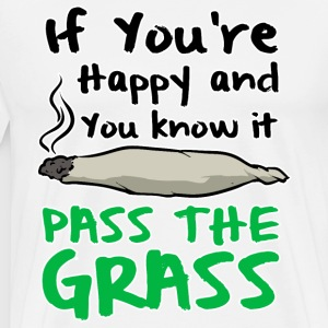 Pass the Grass - Men's Premium T-Shirt