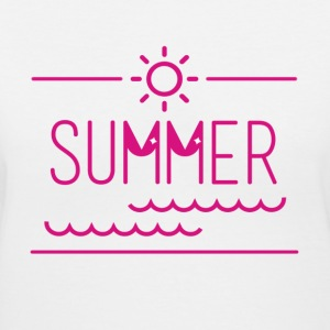 It's summer! - Women's V-Neck T-Shirt