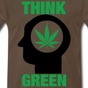 Think Green - Men's Premium T-Shirt