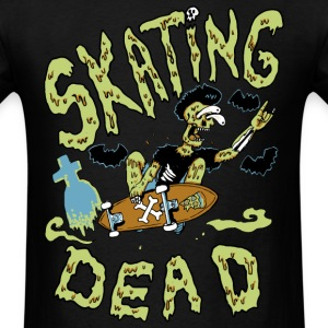Skating dead - Men's T-Shirt
