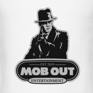 MOB OUT MENS TEE - Men's T-Shirt