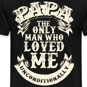 PAPA LOVE ME - Men's Premium T-Shirt