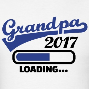 Grandpa 2017 T-Shirts - Men's T-Shirt