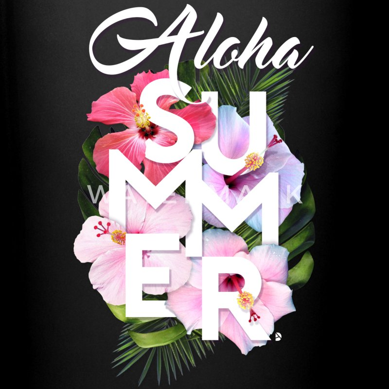 AD Aloha Summer Mugs & Drinkware - Full Color Mug
