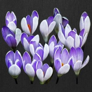 Cluster Of Crocuses - Tote Bag