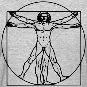 man vitruvian - Women's T-Shirt