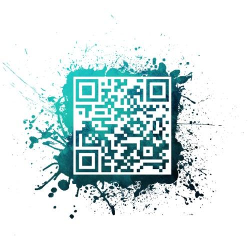 QR Code Splatter