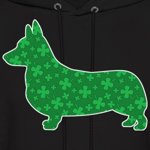 Pet, Irish, March, breed, luck, holiday, corgi, we - Men's Hoodie