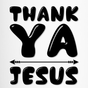 Thank YA Jesus Mugs & Drinkware - Travel Mug