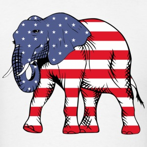 American Elephant - Men's T-Shirt