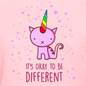 Different Unicorn Cat Women's T-Shirts - Women's T-Shirt