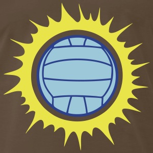 water polo volleyball sun ball explosion T-Shirts - Men's Premium T-Shirt