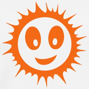 smiley sun smile 71112 T-Shirts - Men's Premium T-Shirt