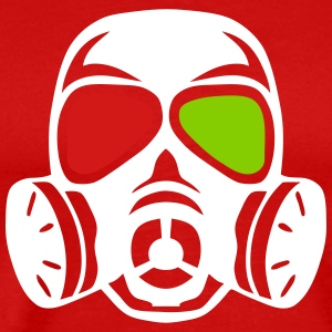 gas mask 706 T-Shirts - Men's Premium T-Shirt
