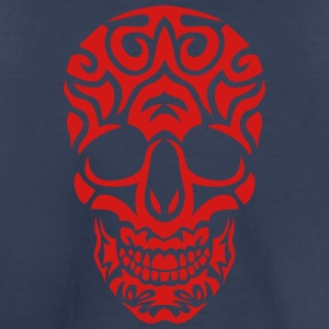 skull tribal dead head 705 Kids' Shirts - Kids' Premium T-Shirt